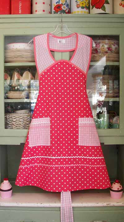 1940 in Pink Polka Dot and Pink Gingham