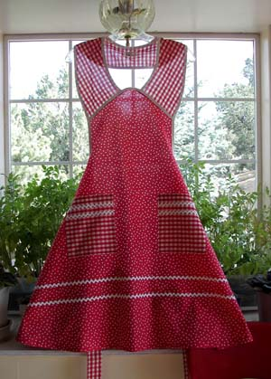 1940 in Red Poka Dot