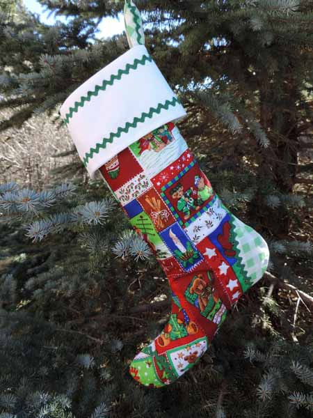 Christmas Teddy Christmas Stocking