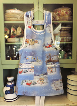 Grandma Vintage Trailers and Trucks Apron