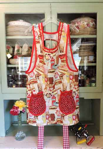 Grandma Old Fashioned Cafe Apron
