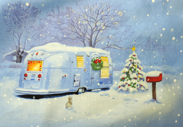Vintage Trailers for Christmas