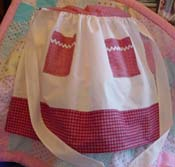 Desiree Child half apron