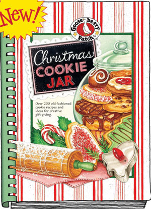 Christmas Cookie Jar, click for more cookbooks
