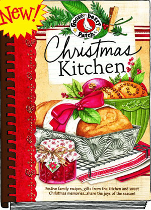 Christmas Kitchen Cookbook, click for more cookbooks