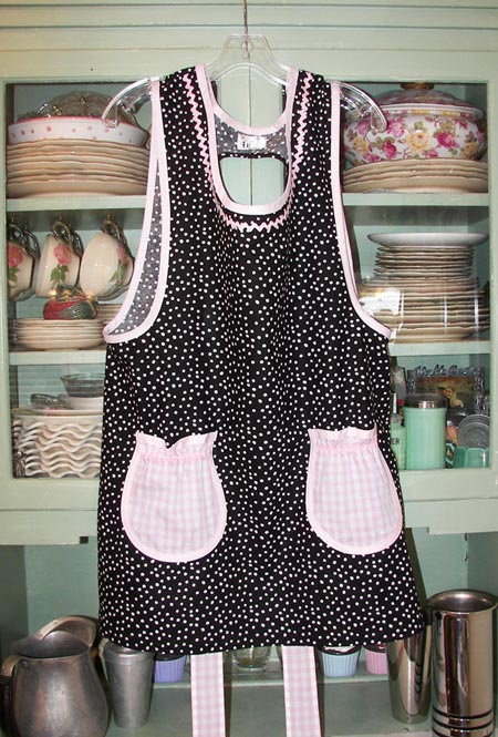 Grandma Black Polka Dot