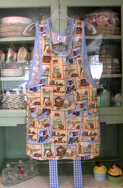 Grandma Apron Good Old Days, click for more grandma aprons