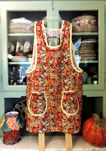 Grandma Old Fashioned Pumpkins Apron