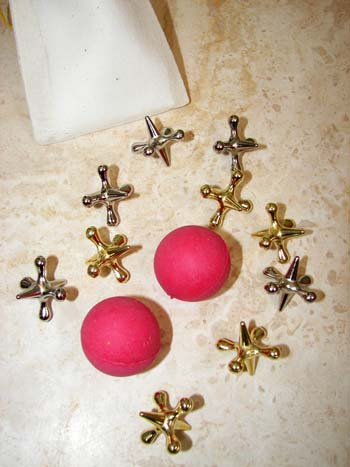 Jacks with Rubber Balls, click for more views