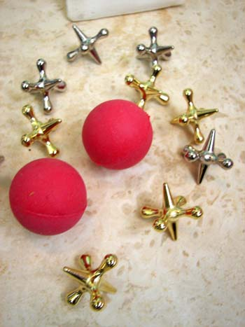 Old Fashioned Jacks with Balls, click to see more.