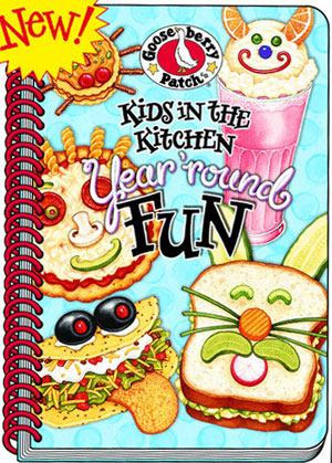 Kids in the Kitchen Cookbook, click for more fun cookbooks