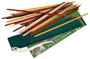 Wooden Pick Up Sticks