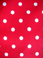 Red/White Poka Dot