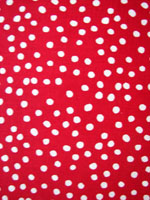 Retro Red Poka Dot