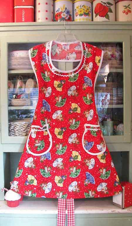 2f51ee20d Aunt Rose Christmas Girls Apron