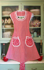 Rose Red gingham