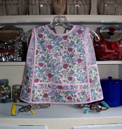 Small Child Fantasy Floral apron