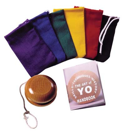 Yo Yo with canvas case and handbook